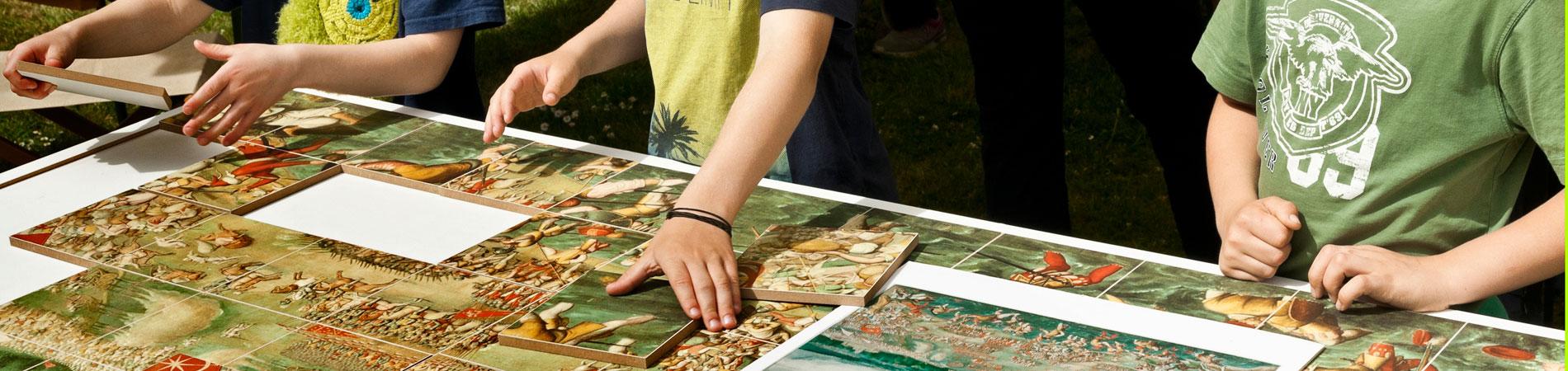 Kunst-Puzzle am Museumstag auf der Veste Coburg