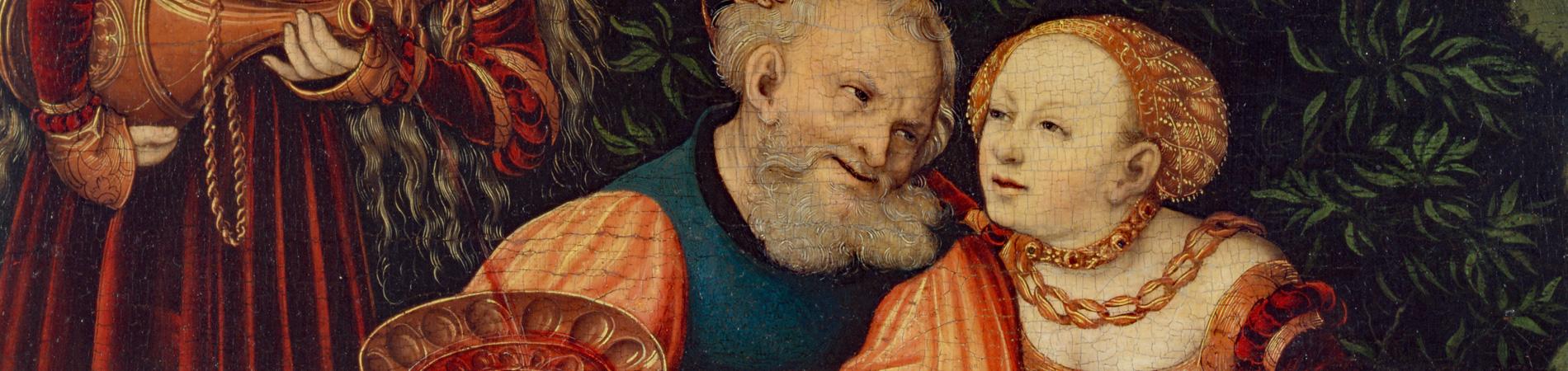 Altdeutsche Sammlung Veste Coburg, Detail Cranach