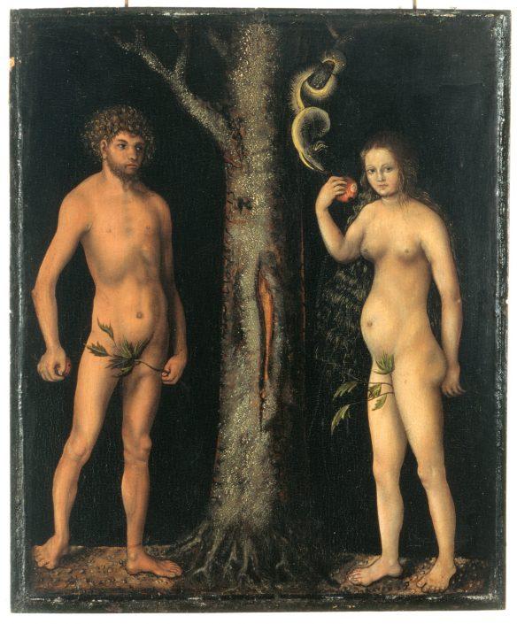 Lucas Cranach d. Ä. und Werkstatt, Adam und Eva, um 1512