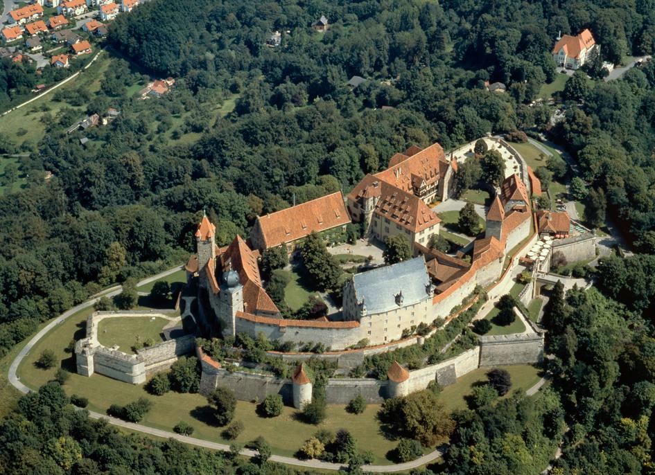 Luftbild der heutigen Anlage
