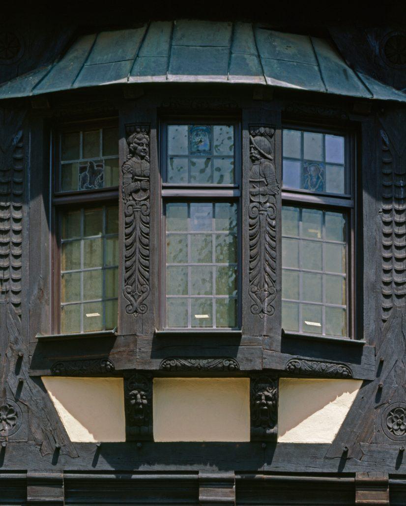 Fürstenbau, Detail der Fassade