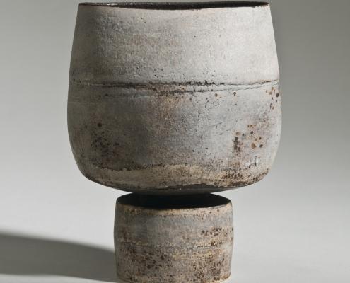 Hans Coper (1920 – 1981): Vase, Steinzeug, um 1973, Inv.-Nr. a.S. 5865