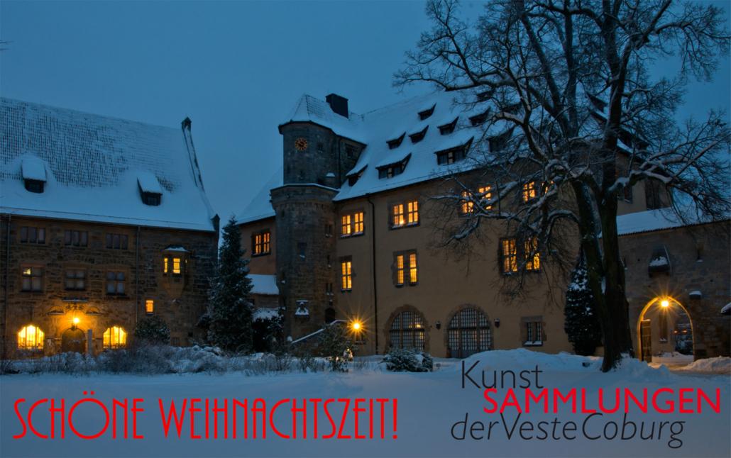 Weihnachtszeit auf der Veste Coburg