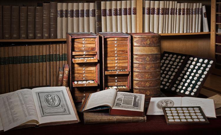 Gemmen-Abdrucksammlungen und Gemmenliteratur aus dem Besitz der Kunstsammlungen der Veste Coburg und der Landesbibliothek Coburg