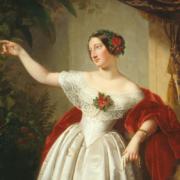 Emil Jacobs, Herzogin Alexandrine von Sachsen-Coburg und Gotha, um 1842