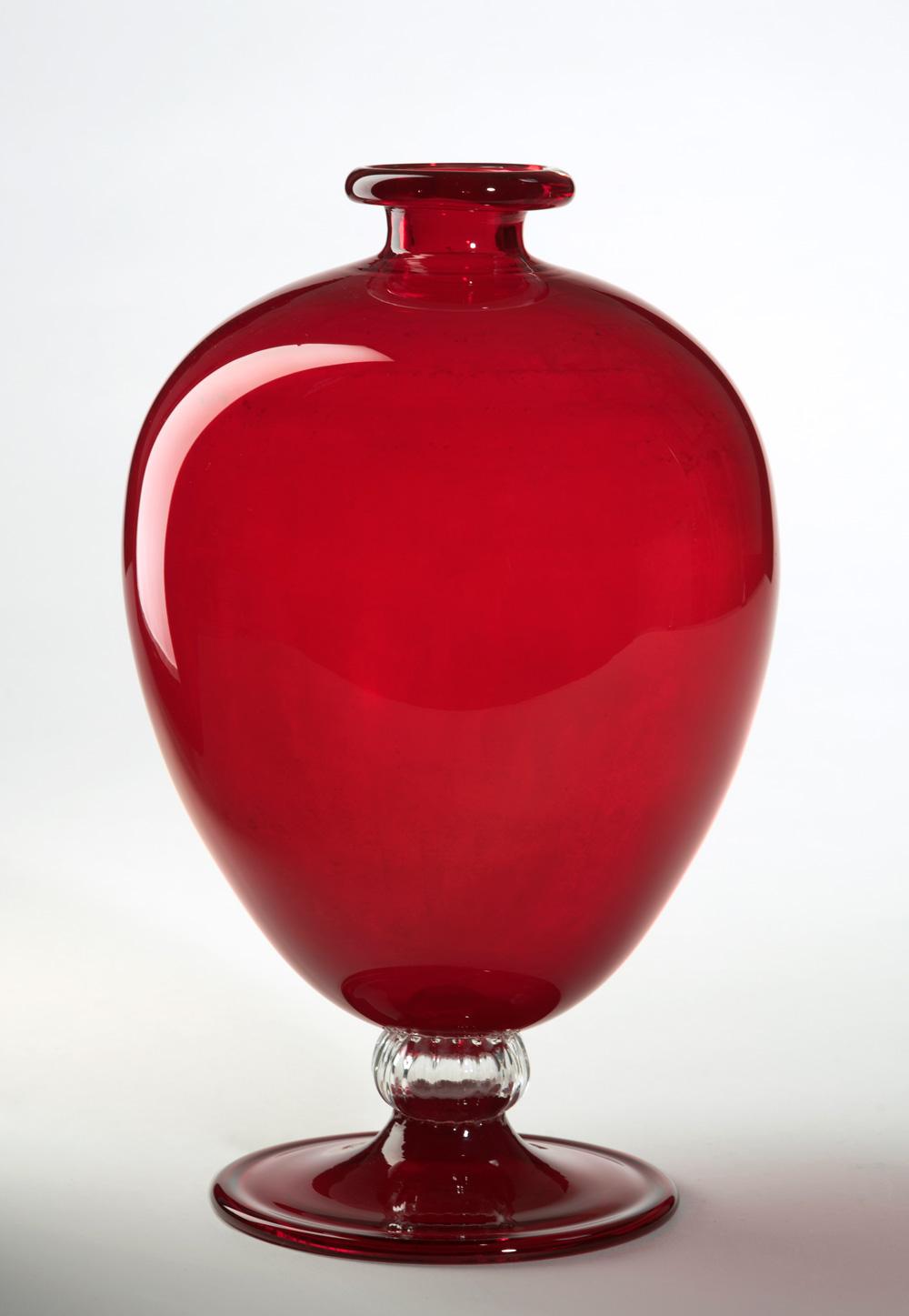 Vittorio Zecchin/Venini: Veronese-Vase, Entwurf 1921-1922, Ausführung 1950er Jahre, Frauenau Glasmuseum; Foto: Kunstsammlungen der Veste Coburg