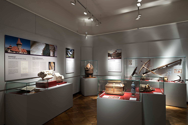 Ausstellung Coburg an der Burgenstraße Thüringen 2020