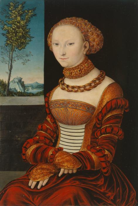 Lucas Cranach d.Ä, Bildnis einer jungen Frau, um 1525