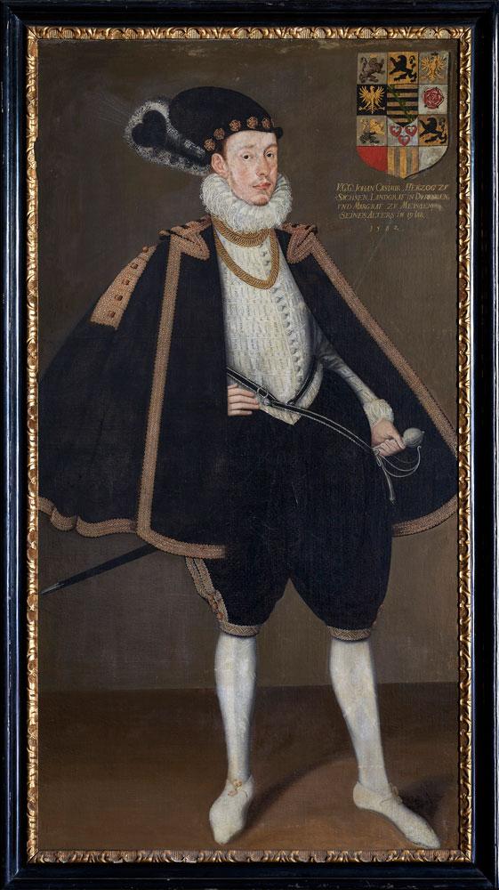 Herzog Johann Casimir von Sachsen-Coburg, 1582