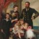 Herzog Alfred von SAchsen-Coburg und Gotha und seine Familie