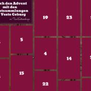 Der Advenskalender 2020