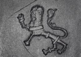 Detail vom Riesenofen der Veste Coburg