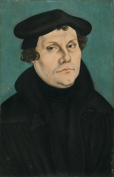 Lucas Cranach d. Ä., Martin Luther, 1528
