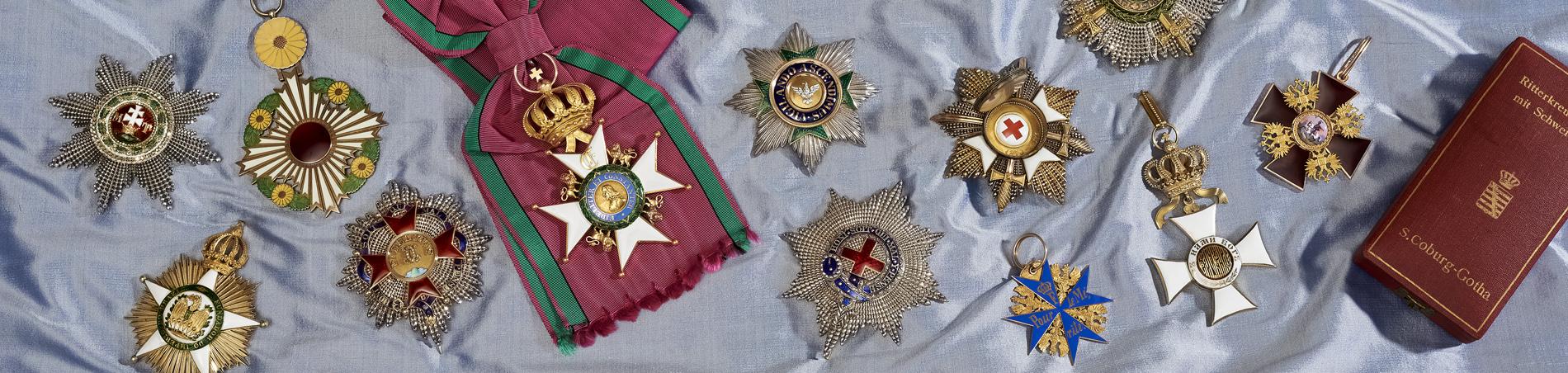 Orden und Ehrenzeichen in den Kunstsammlungen der Veste Coburg